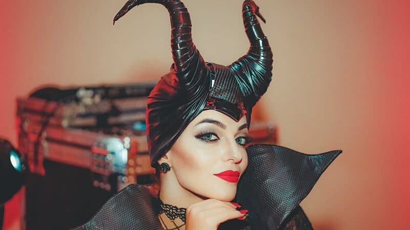 Contoh Make Up Karakter - Maleficent