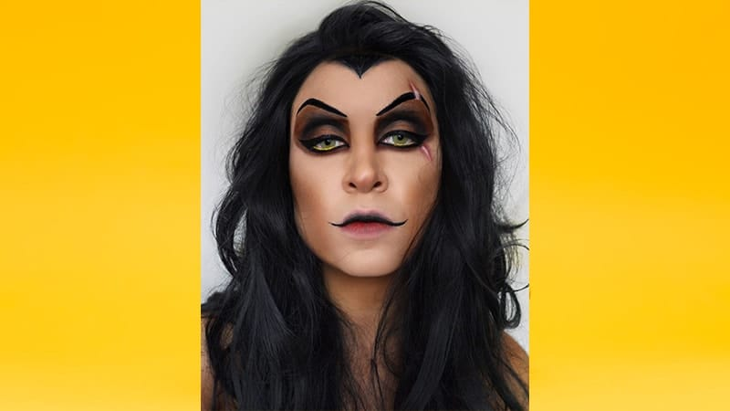 Contoh Make Up Karakter - Scar Lion King
