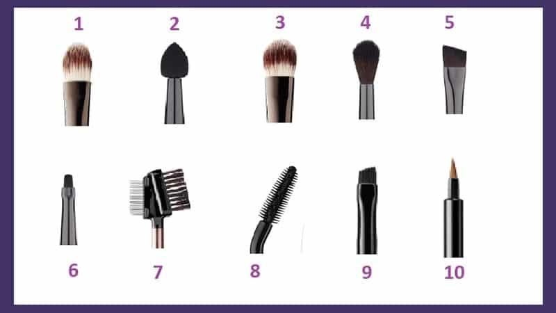 Macam-Macam Kuas Makeup dan Fungsinya - Brush Kecil