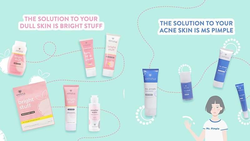 Produk Emina dan Fungsinya - Emina Skincare