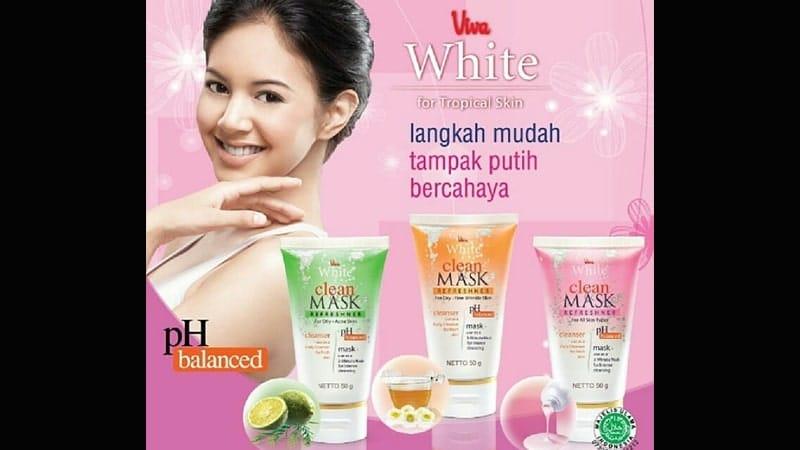 Rangkaian Produk Viva Kosmetik - Pembersih Wajah