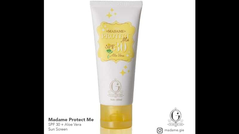 Produk Sunscreen Madame Gie