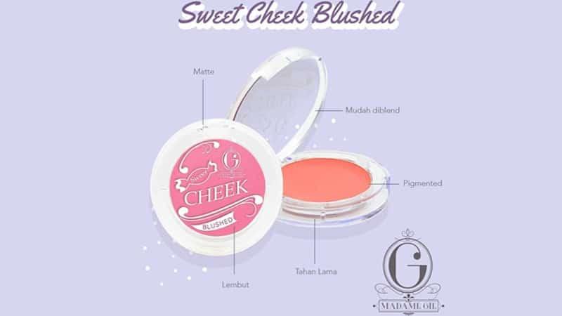 Produk Blush Madame Gie