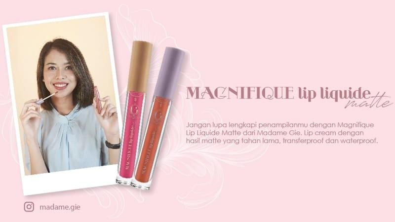Produk Lipstik Madame Gie