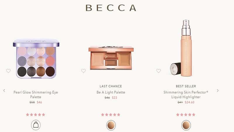 Brand Kosmetik BECCA