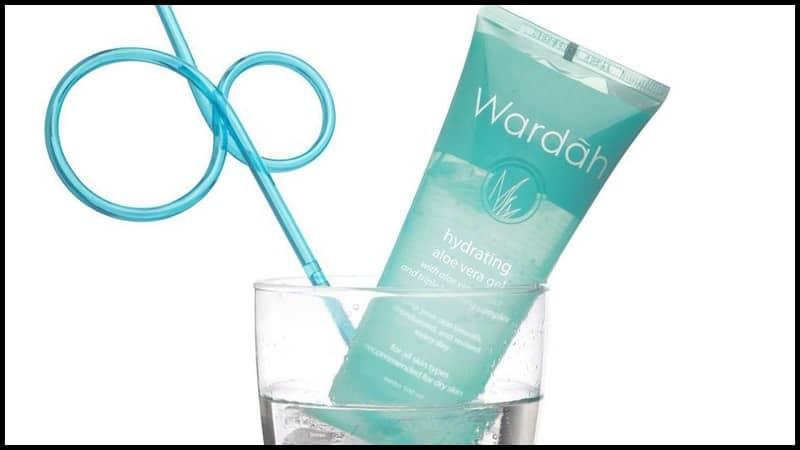 Produk Pelembap Wajah Wardah Hydrating Aloe Vera Gel