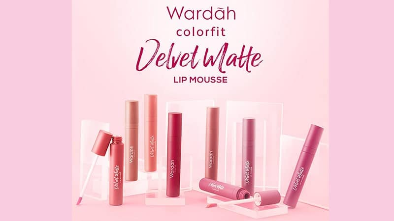 Macam-Macam Lipstik Wardah - Colorfit Velvet Matte Lip Mousse