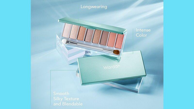 Warna Eyeshadow Wardah - Eyeshadow Palette