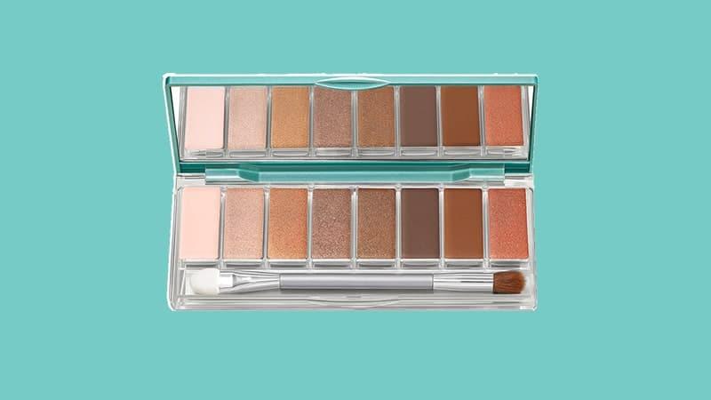 Warna Eyeshadow Wardah - Exclusive Eyeshadow Palette Sunset Brown