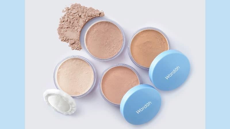 Macam-Macam Bedak Wardah - Lightening Loose Powder