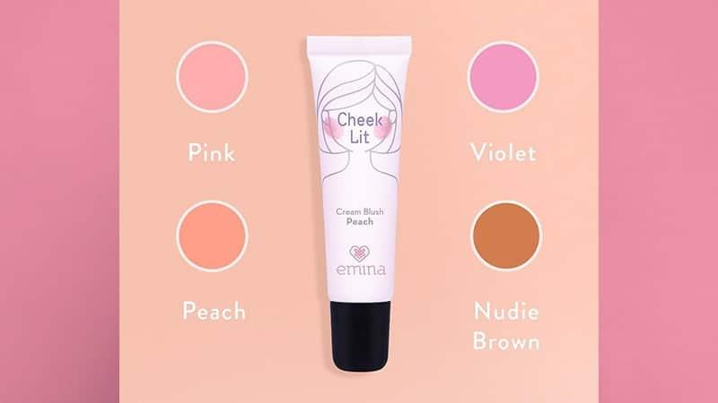 Warna Blush On Emina - Cream BLush