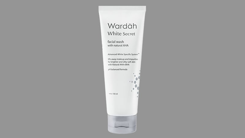 Paket Wardah White Secret - Facial Wash with Natural AHA