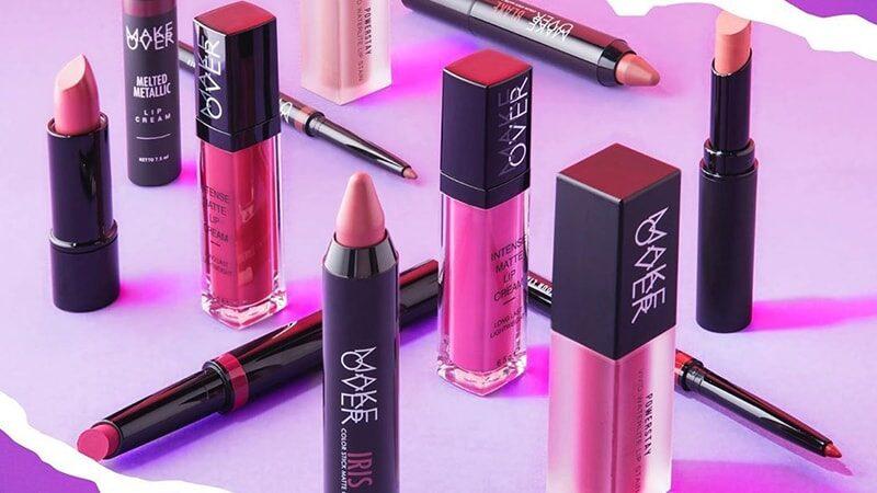 Warna Lipstik Make Over - All Series