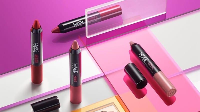 Warna Lipstik Make Over - Color Stick Glass Crayon