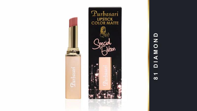 Warna Lipstik Purbasari Matte yang Paling Laris - Diamond 81
