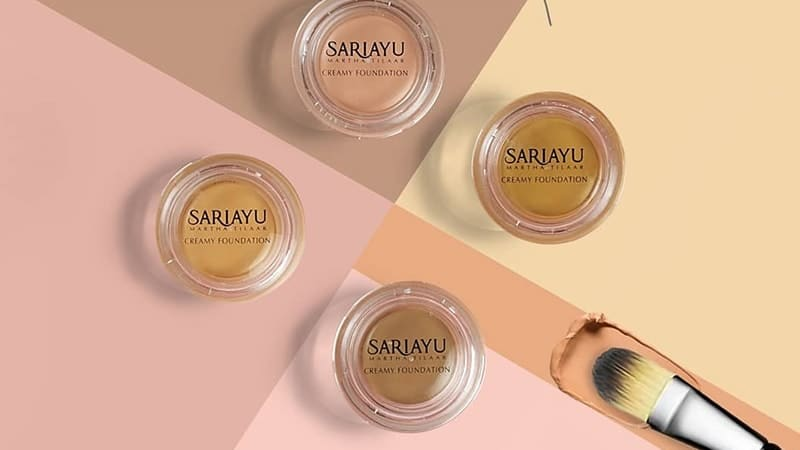 Alas Bedak Sariayu - Creamy