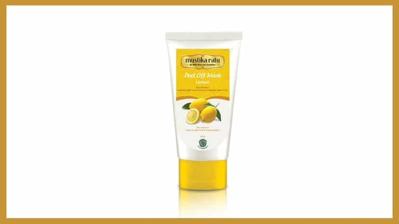 Peel Off Mask Lemon