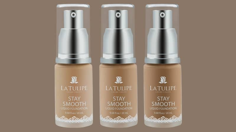 Foundation yang Bagus dan Tahan Lama - La Tulipe Stay Smooth Liquid Foundation