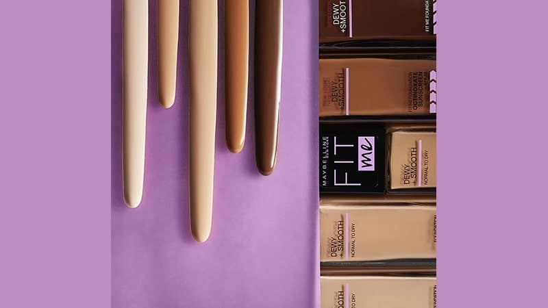 Foundation yang Bagus untuk Kulit Kering - Maybelline Fit Me Dewy and Smooth Foundation