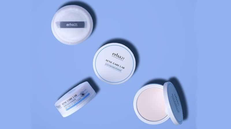 Bedak untuk Kulit Berjerawat - Erha Acne Face Powder