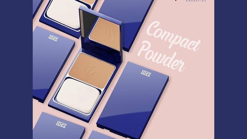 Inez Beauty Compact Powder