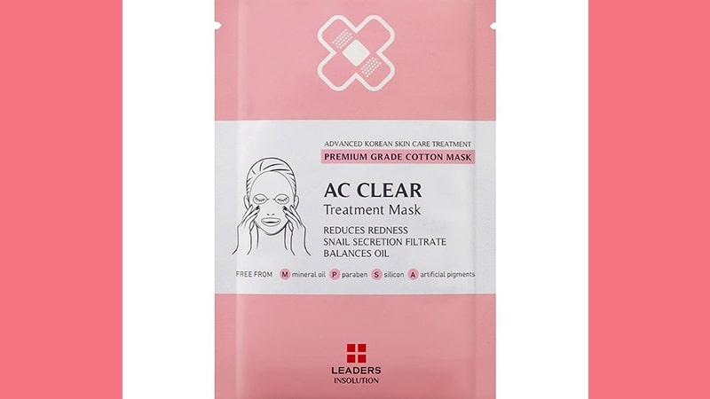 Masker untuk Menghilangkan Jerawat - Leaders AC Clear Treatment Mask