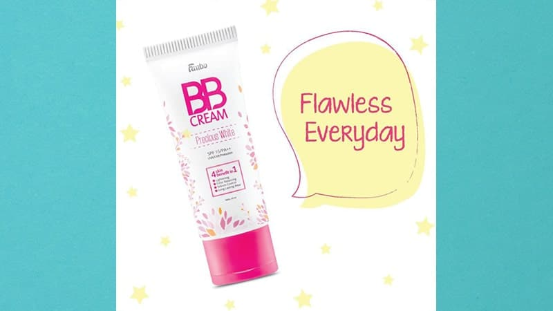 BB Cream untuk Wajah Kering - Fanbo Precious White