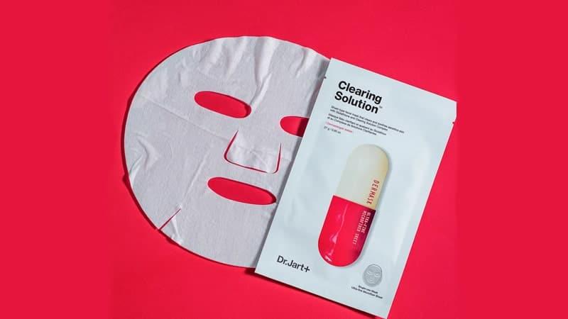 Masker Penghilang Bekas Jerawat - Dr Jart Clearing Solution Mask