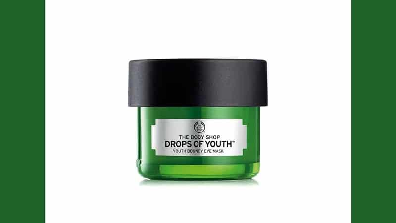 Masker Kantung Mata - The Body Shop Drops of Youth Bouncy Eye Mask