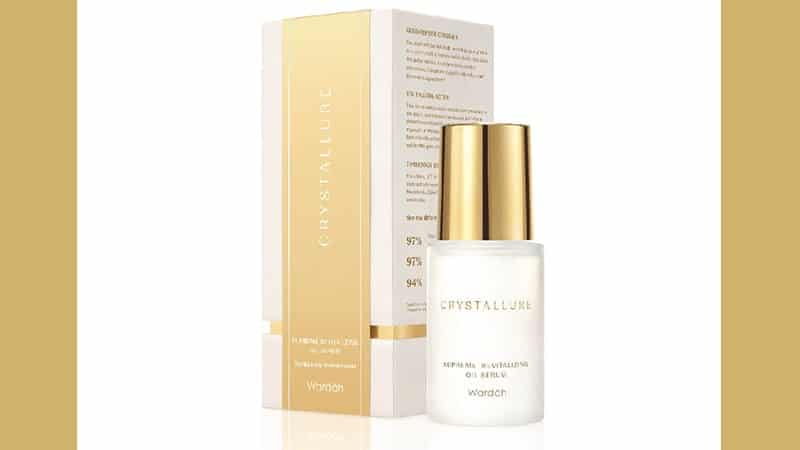 Wardah Crystallure Supreme Revitalizing Oil Serum