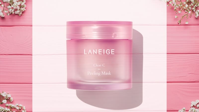 Masker Korea yang Bagus - Laneige Clear C Peeling Mask