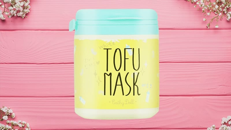 White Doll Tofu Mask