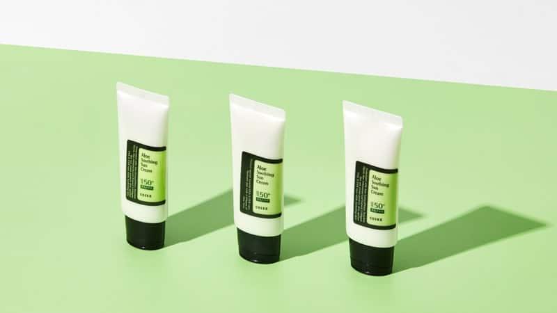 Sunscreen untuk Kulit Kering - Cosrx Aloe Soothing Sun Cream