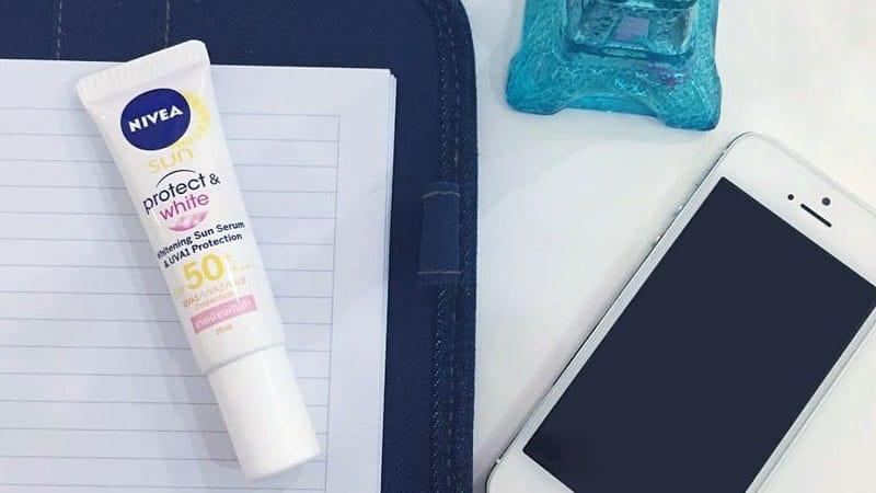 Sunscreen untuk Kulit Sensitif - Nivea Sun Face Protection Serum