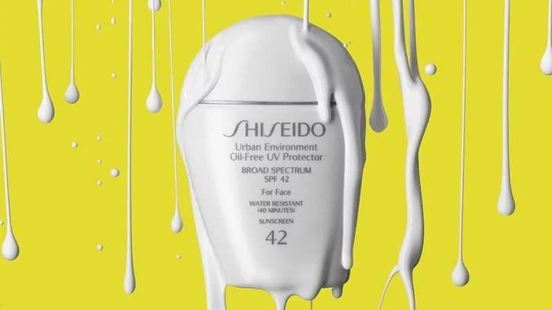 Sunscreen untuk Kulit Berjerawat - Shiseido Urban Environment Oil-Free UV Protector