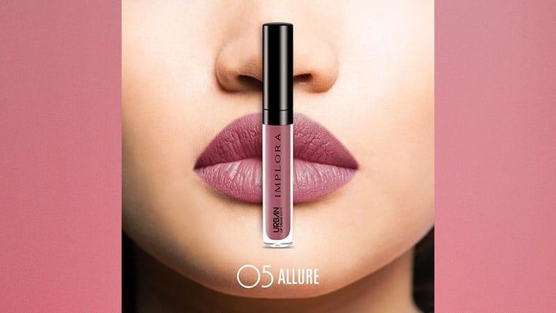 Urban Implora Lip Cream Matte - Shade 05 Allure