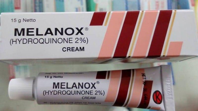 Merk Cream Pemutih Wajah Paling Ampuh di Apotik - Melanox