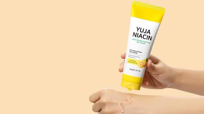 Cream Penghilang Jerawat dan Pemutih Wajah - Some By Mi Yuja Niacin Brightening Moisture Gel Cream