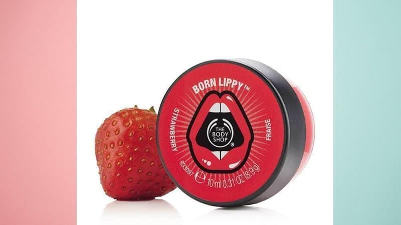 The Body Shop Born Lippy Pot Lip Balm