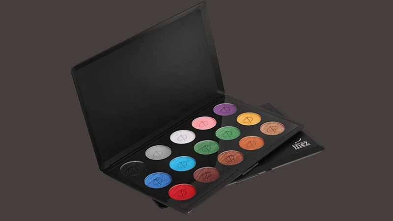 Eyeshadow Palette yang Pigmented dan Murah - Inez Palette Eyeshadow Profesional