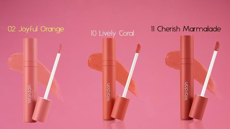 Warna Lipstik Wardah Velvet - Fresh