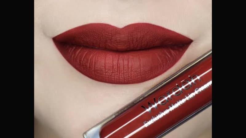 Warna Lipstik Wardah untuk Kulit Sawo Matang - Exclusive Matte Lip Cream 07 Hello Ruby