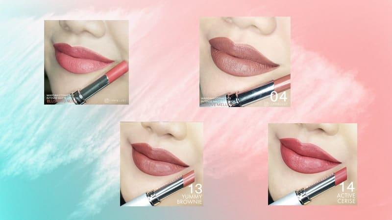 Warna Lipstik Wardah Intense Matte - Nude