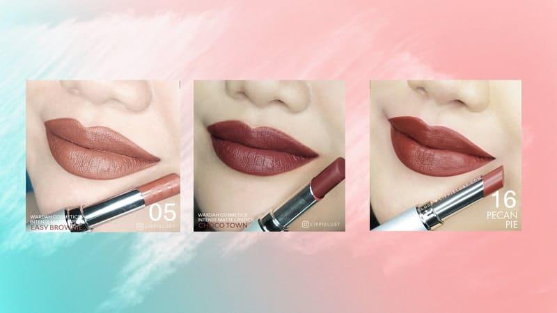 Warna Lipstik Wardah Intense Matte - Cokelat