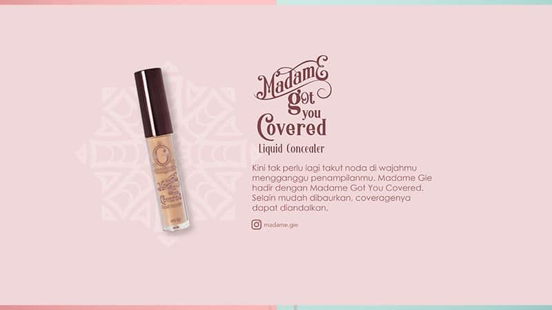 Concealer Murah di Bawah 30rb - Madame Gie Got You Covered