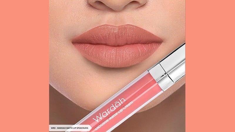 18 Warna Wardah Exclusive Matte Lip Cream - Warna Oranye