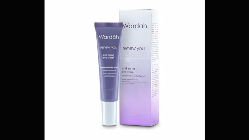 Wardah Renew You Anti Aging Eye Cream - Krim Mata yang Bagus dan Terbaik