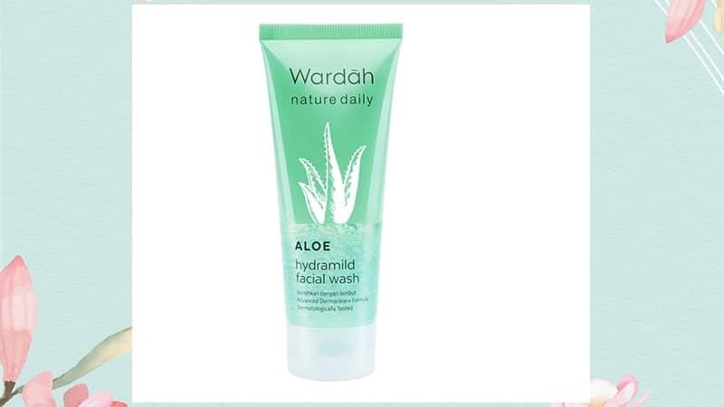 Rangkaian Wardah Aloe Vera - Facial Wash