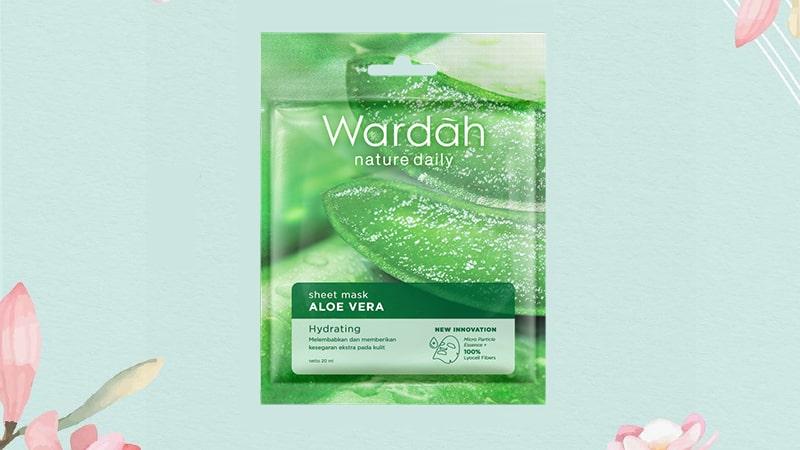 Rangkaian Wardah Aloe Vera - Sheet Mask