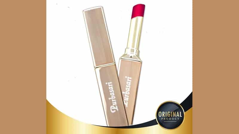 Warna-Warna Lipstik Purbasari - Lipstick Color Matte Metallic